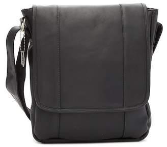David King & CO Vertical Man's Leather Bag