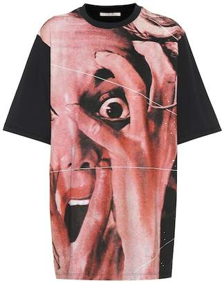 Christopher Kane Printed cotton T-shirt