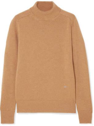 Victoria Beckham Cashmere Turtleneck Sweater - Camel