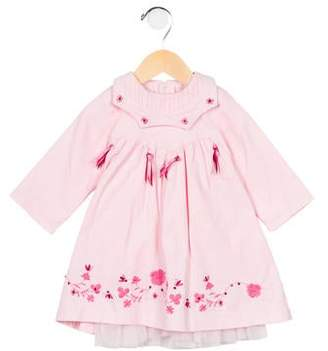 Catimini Girls' Corduroy Embroidered Dress w/ Tags