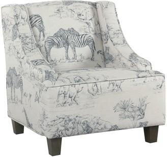 HomePop Kids Swoop Accent Chair