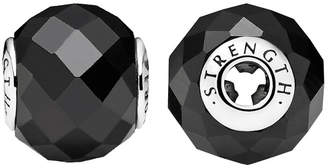 Pandora Essence Collection Silver Black Spinel Strength Charm