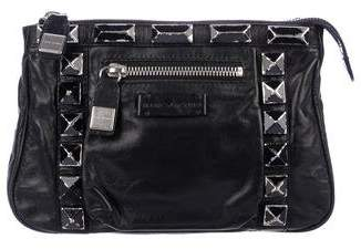 Marc Jacobs Leather Stud Clutch