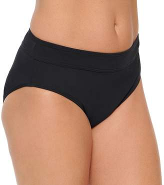 Croft & Barrow Women's Tummy Slimmer Midrise Bikini Bottoms