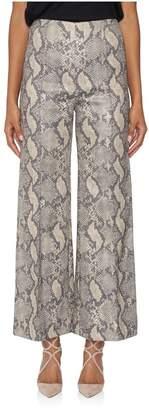 Emilia Wickstead Lurex Python Hullinie Pants