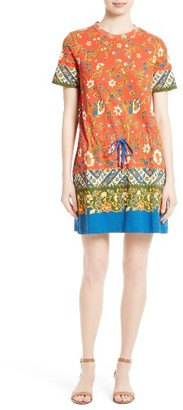 Women's Tory Burch Jessie Print T-Shirt Dress $225 thestylecure.com