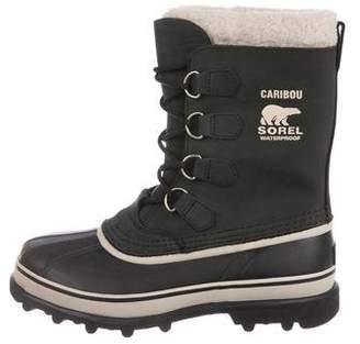 Sorel Suede Round-Toe Mid-Calf Boots