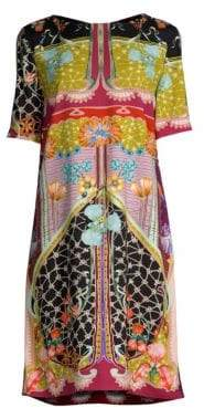 Etro Garden Of Eden Tunic Dress