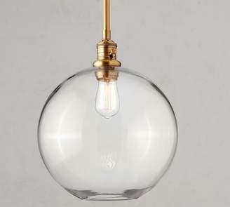 Pottery Barn PB Classic Rod Pendant - Glass Globe