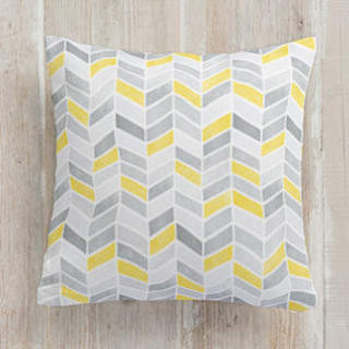 Inspired Chevron Square Pillow