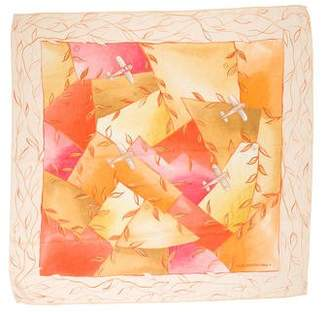 Louis Vuitton Silk Printed Scarf