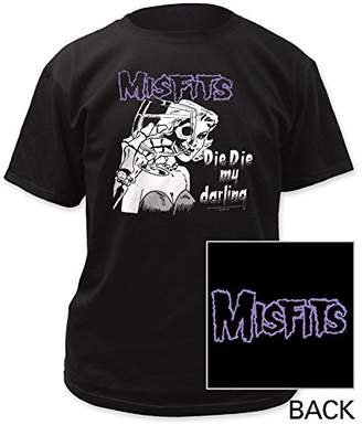 Impact Men's The Misfits Die My Darling Double Sided T-Shirt
