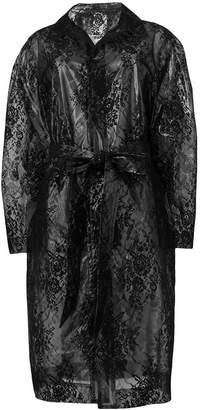 Christopher Kane plastic lace mac coat