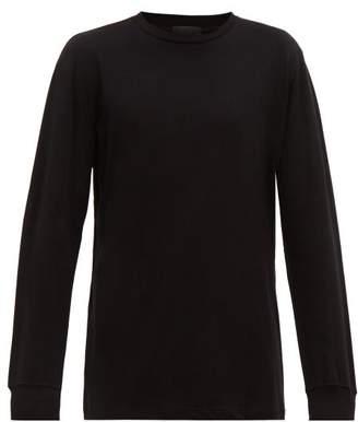 Wardrobe.Nyc Wardrobe.nyc - Long Sleeve Cotton Jersey Top - Mens - Black