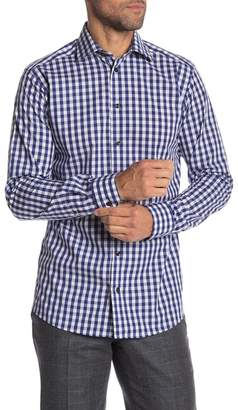 Eton Checkered Long Sleeve Slim Fit Shirt