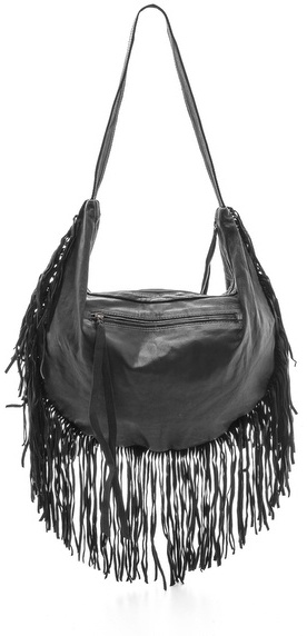 Cleobella Studded Sydney Fringe Shoulder Bag