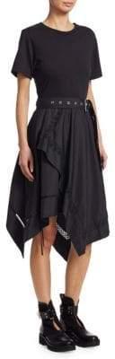 3.1 Phillip Lim Tiered Cotton Handkerchief Dress