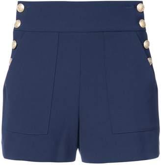 Alice + Olivia Alice+Olivia side buttons shorts