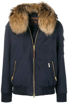 Woolrich embroidered jacket