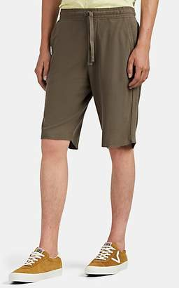 ATM Anthony Thomas Melillo Men's Cotton Piqué Drawstring Shorts - Brown