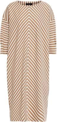 Piazza Sempione Striped Jersey Dress