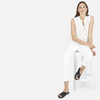 The Relaxed Silk Sleeveless $65 thestylecure.com