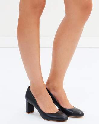 ICONIC EXCLUSIVE - Savoca Wide Fit Leather Heels