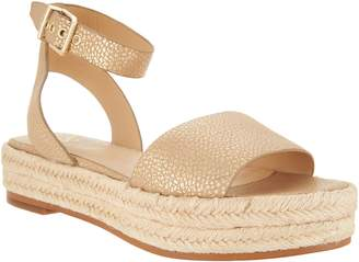 Vince Camuto Leather Ankle Strap Espadrilles - Kathalia
