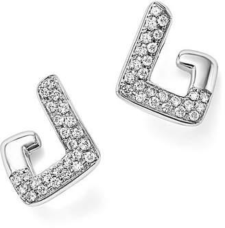 Bloomingdale's Diamond Geometric Drop Earrings in 14K White Gold, .35 ct. t.w. - 100% Exclusive
