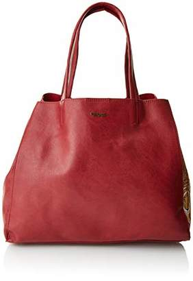 Desigual Bols_rosso Cuenca, Women's Shoulder Bag,16.5x30x37.5 cm (B x H T)