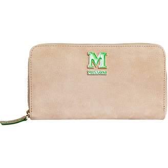 Missoni Beige Suede Purses, wallets & cases