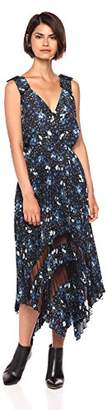 The Kooples Women's Women's V-Neck Floral Dress