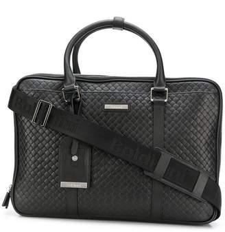 Baldinini quilted laptop bag