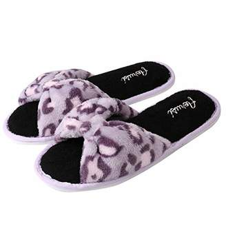 Aerusi Women's Leopard Slipper