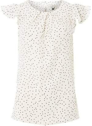 Dorothy Perkins Womens **Billie & Blossom Tall Black Spot Shell Top