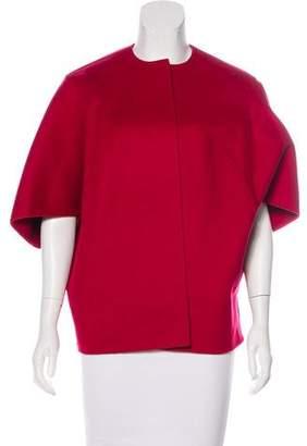 Michael Kors Wool Open Front Cardigan