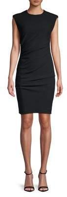Marella Ruched Sheath Dress