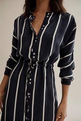 Country Road Stripe Shirt Dress