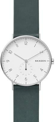 Skagen Aaren Green Watch