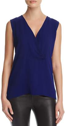 Theory Silk Crossover Top