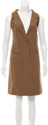Marni Tie-Accented Shift Dress