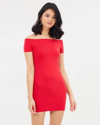 Miss Selfridge Bardot Body-Con Dress