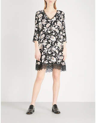 Claudie Pierlot Victoriane Bis crepe dress