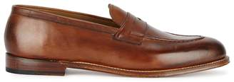 Grenson Lloyd Brown Leather Loafers