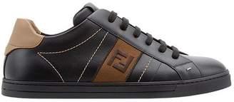 Fendi FF logo low-top sneakers