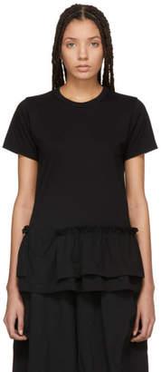 Comme des Garcons Black Ruffle T-Shirt