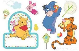 Winnie The Pooh Door Room Sticker