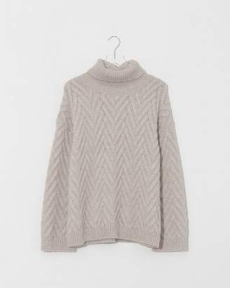 Nili Lotan Oatmeal Melange Lee Sweater