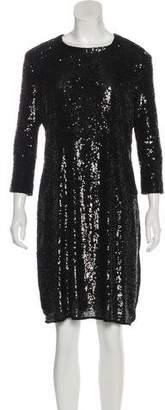 Tory Burch Sequin Cocktail Dress