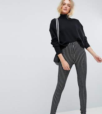 Asos Tall Skinny Ponte Pinstripe Pants